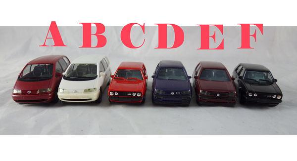 【震撼精品百貨】西德Herpa1/87模型車~福斯VW-SHARAN/GOLF【共6款】