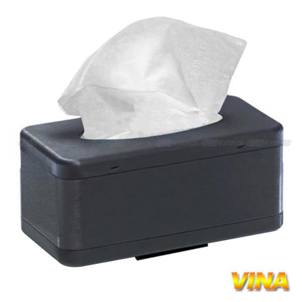 【愛車族購物網】磁吸式 VINA吸頂面紙盒 (髮絲灰)