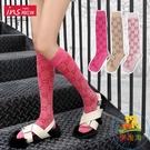 小腿襪長襪子女潮長筒襪韓國中筒襪半高筒長腿襪 樂淘淘