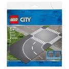 樂高積木 LEGO《 LT60237 》City 城市系列 - 彎道和十字路口╭★ JOYBUS玩具百貨
