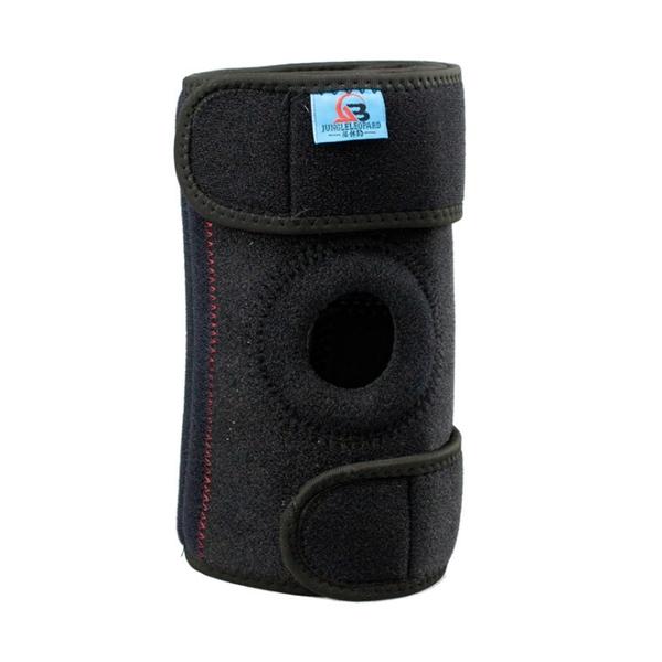 PUSH!戶外休閒用品加壓穩定支撐4根彈簧登山護膝戶外運動護具(1入)H35