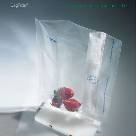 《interscience》鐵胃袋 單邊濾網 BAGFILTER, Bags with Lateral Filter