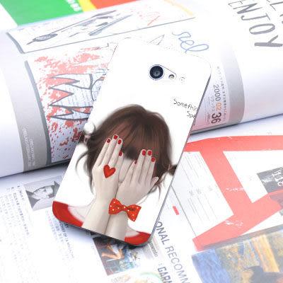 [ 機殼喵喵 ] SONY Xperia Z2a LTE L50T D6563 手機殼 客製化 照片 外殼 全彩工藝 SZ040 害羞女孩