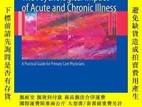 二手書博民逛書店The罕見Psychological Impact Of Acute And Chronic IllnessY