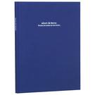 【筆坊】NCL百年素面簡約A4布面黑內頁自黏黏貼相本相簿 (A4PB-181)