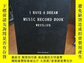 二手書博民逛書店I罕見HAVE A DREAM MUSIC RECORD BOO