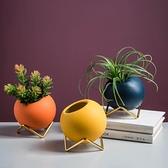 北歐ins風創意仿真多肉植物盆栽 辦公室桌面假花綠植裝飾品小擺件