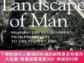 二手書博民逛書店The罕見Landscape of Man the Landscape of Man: Shaping the E