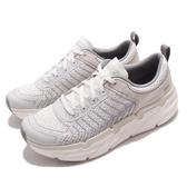 Skechers 慢跑鞋 Max Cushioning Premier-Endeavour 白 灰 男鞋 厚底 健走鞋 運動鞋 【ACS】 220070WGY