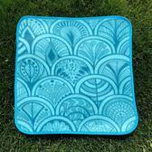 戶外小坐墊超輕單人野餐墊可折疊防潮墊迷你便攜加厚旅行公園地墊【跨年交換禮物降價】