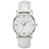 DKNY 繽紛高雅時尚腕錶(白)