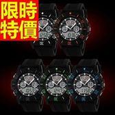 電子錶-防水率性典型運動手錶5色58j39【時尚巴黎】