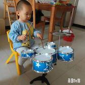 爵士鼓 兒童架子鼓初學者練習鼓仿真爵士鼓樂器音樂玩具鐳射五鼓OB1707『易購3c館』
