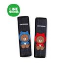 LINE FRIENDS 熊大帽T 安全帶護套組 2入台灣製