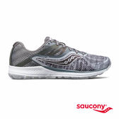 SAUCONY RIDE 10 HEATHERED/CHROME 專業訓練鞋-麻灰