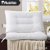 一對全棉可水洗枕頭枕芯成人單人家用情侶睡眠舒適護頸枕整頭 igo父親節下殺