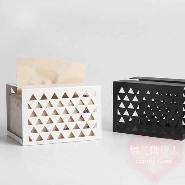 多功能紙巾盒客廳創意家用抽紙盒歐式mj4488【棉花糖伊人】