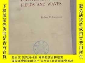 二手書博民逛書店electromagnetic罕見fields and waves(P1038)Y173412