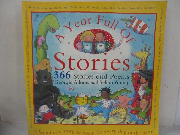 【書寶二手書T2/兒童文學_I4E】A year full of stories_Georgie Adams