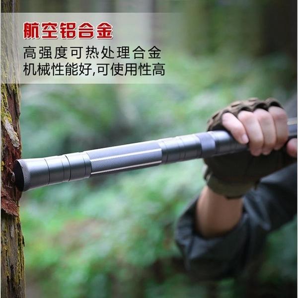 登山杖 戶外戰術棍直棍 一木良品