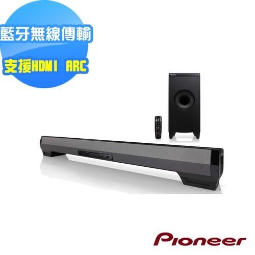 (限時特賣)Pioneer 先鋒無線網路前置揚聲器系統Sound Bar SBX-N700