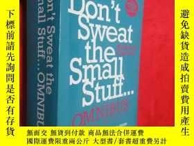 二手書博民逛書店Don t罕見sweat the small stuff...o