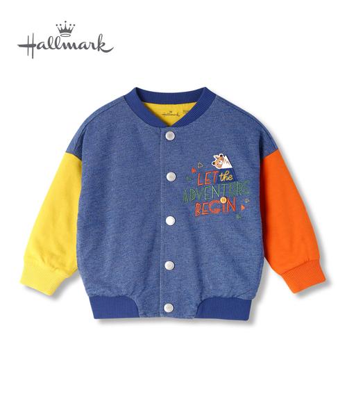 Hallmark Babies 秋冬男童撞色長袖外套 HH3-B01-04-KB-PN