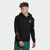 【12周年慶跨店折後$2799】adidas ADVENTURE 棉質外套 連帽外套 黑色 GD5985