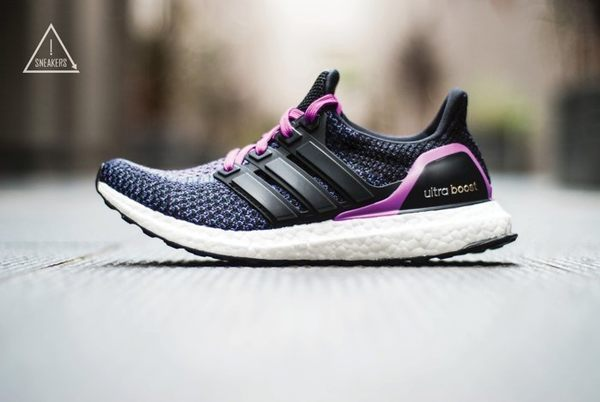 ISNEAKERS adidas ultra boost 紫色漸層 馬牌底 AQ5935