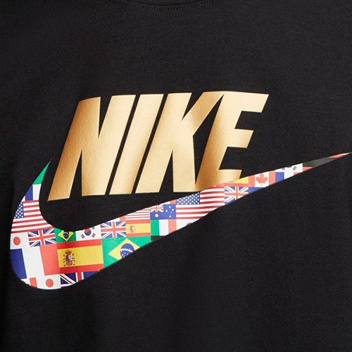 NIKE服飾系列-NSW TEE PREHEAT HBR 男款國旗黑色運動短袖上衣-NO.CT6551010