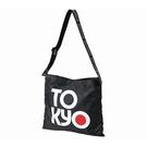 【五折特賣】Asics 托特包 Sports Moment Tote 黑 白 斜背包 東京 Tokyo 運動休閒 【ACS】 3193A095003