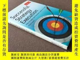 二手書博民逛書店Successful罕見Strategy Execution (