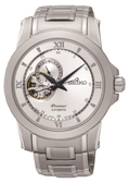 【SEIKO】Premier 開芯鏤空視窗機械腕錶