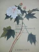 【書寶二手書T2/收藏_ZKO】Christie s_Fine Chinese Modern Paintings(I)_