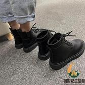 馬丁靴短靴子女中筒靴單靴【創世紀生活館】