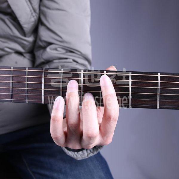 全館83折吉他社GORILLA TIPS指套吉他初學者護指練習指套左手通用防痛指套