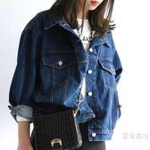 牛仔外套女夏季裝裝2019新款潮韓版bf風學生修身百搭短外套薄款上衣