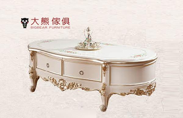 【大熊傢俱】RE933 新古典 大茶几 茶几 方几 歐式感 桌子