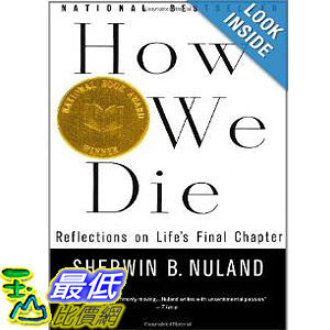 【103玉山網】 2014 美國銷書榜單 How We Die: Reflections of Life s Final Chapter, New Edition  $845