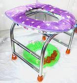 折叠蹲便凳 #孕婦坐便器老人坐便椅防滑馬桶病人蹲便大便廁所凳不銹鋼~ 普通 珍妮寶貝