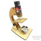 自製顯微鏡兒童科學實驗小製作小發明DIY手工拼裝創客教育 【快速出貨】