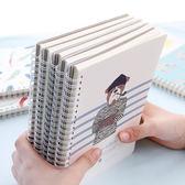 ◄ 生活家精品 ►【P102】A5活頁側翻線圈本 學生 辦公 公司 文具用品 筆記本 記事本