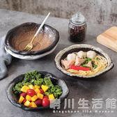 創意日式和風陶瓷拉面碗大碗泡面碗沙拉碗復古米飯碗湯碗斗笠碗 晴川生活館