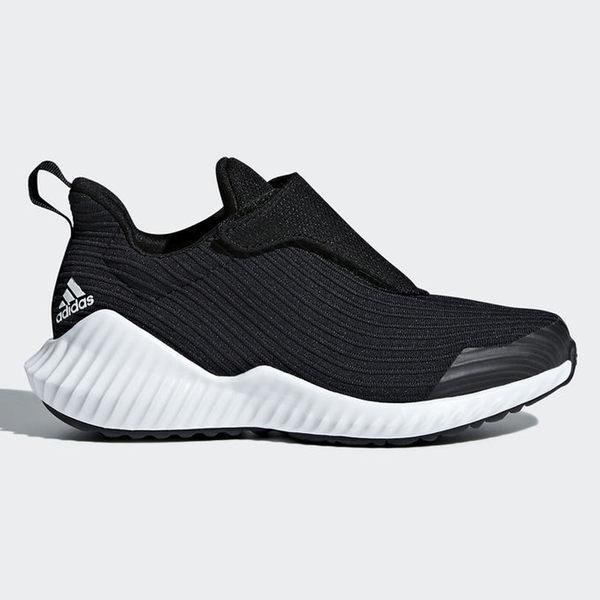Adidas FortaRun 中童 慢跑 休閒 輕量 透氣 黑 【運動世界】 AH2627