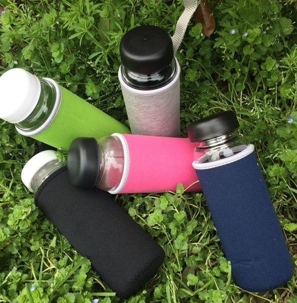 【杯套迷你號】玻璃杯手提隔熱套茶杯水杯杯子保溫袋水壺保溫杯提手保護套
