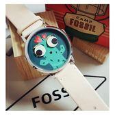 FOSSIL Vintage 俏皮大眼仙人掌腕錶/手錶-40mm ES4214