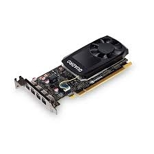 麗臺 NVIDIA Quadro P1000 4GB GDDR5 PCI-E 工作站繪圖卡(MDP-DP)