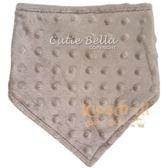 Cutie Bella豆豆領巾圍兜Brown