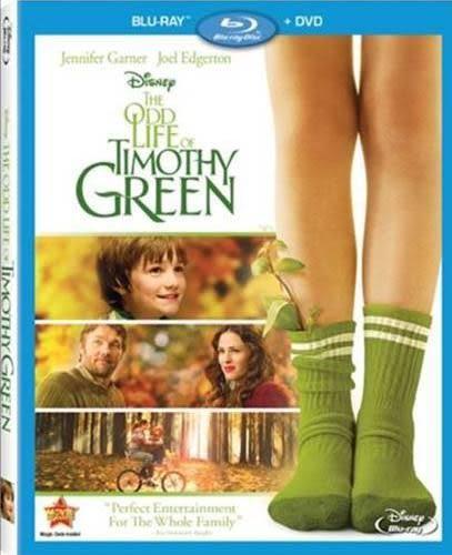 小芽的奇幻人生 藍光BD The Odd Life of Timothy Green  (音樂影片購)