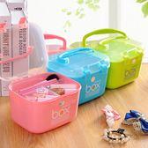 針線盒 家用韓國針線空盒套裝針線包手縫線手提便攜式縫補工具收納盒